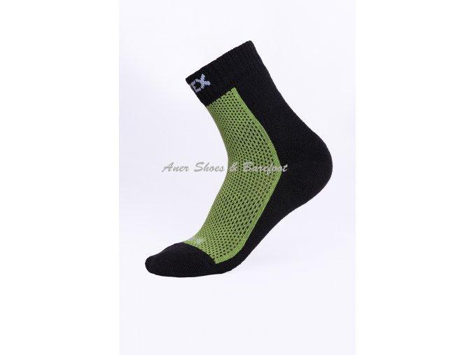 Surtex ponožky 80% Merino zelené