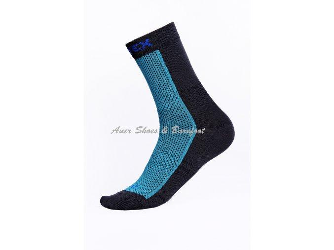 Surtex ponožky 80% Merino dětské/dospělé - modré