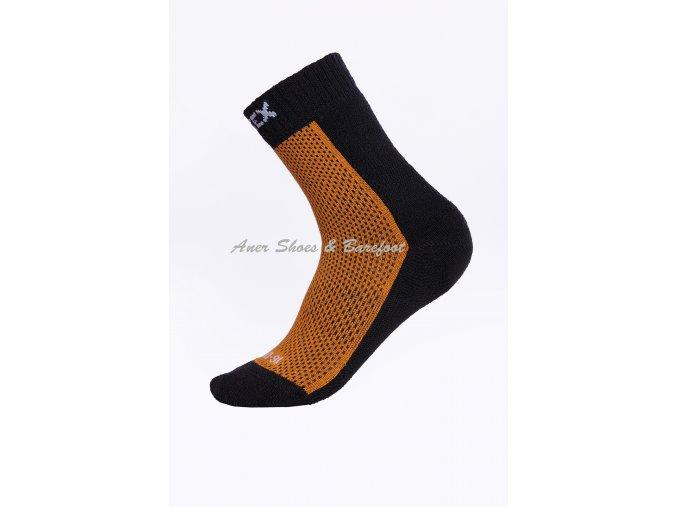 Surtex ponožky 80% Merino dětské oranžové