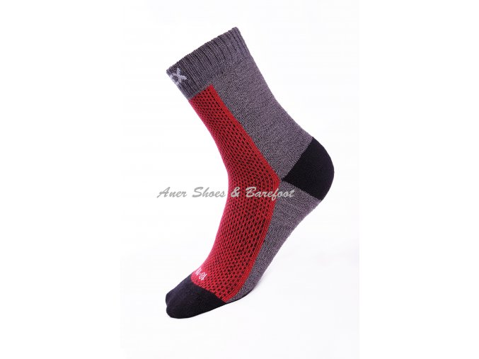 ponožky Surtex detske 80 cervena