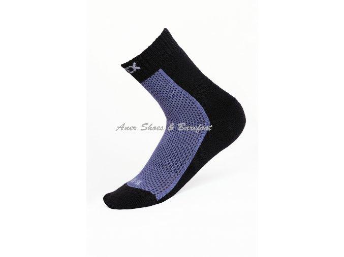 Surtex ponožky 80% Merino dětské fialové
