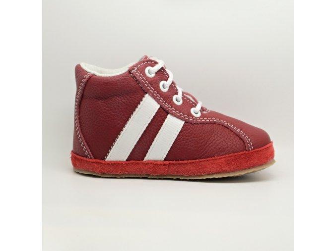 Pegres bosé celoroční boty červené