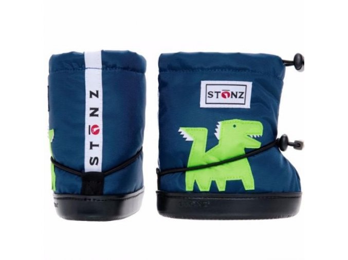 accessories stonz bootie dragon navy plus foam infant toddler 1 grande