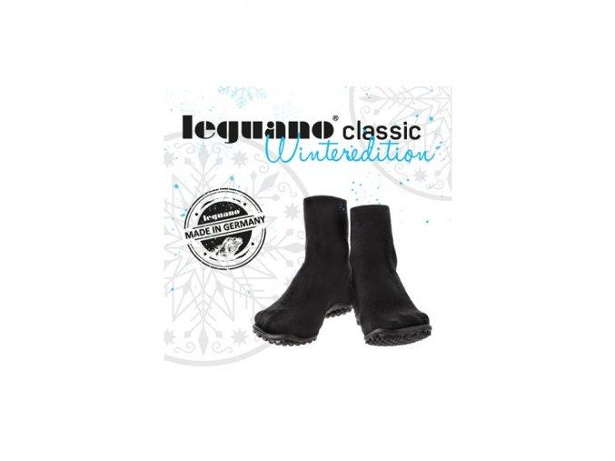Leguano  Classic černé zimní