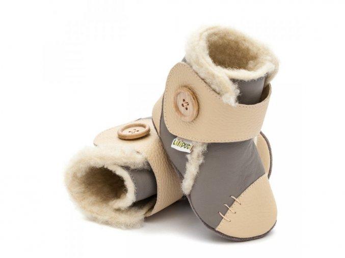 Liliputi zimní botičky/capáčky Dusk