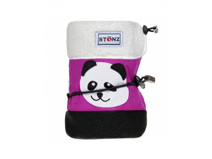 stonz baby booties panda 3