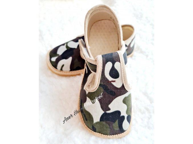 Beda papucky prezuvky barefoot vojenska army