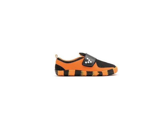 Vivobarefoot PRIMUS KIDS K Tiger Orange Black c