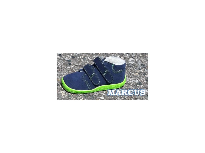 Beda Marcus zimni boty membrana barefoot