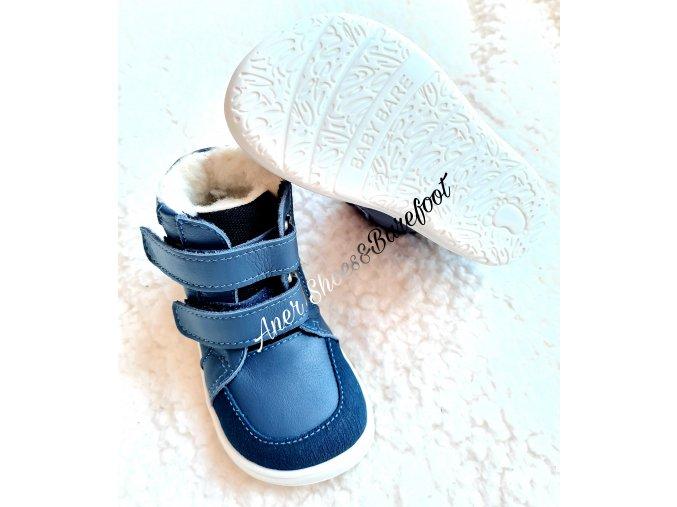Baby Bare Winter Navy asfaltico