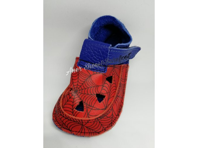 Baby Bare Shoes Top Stitch Spider