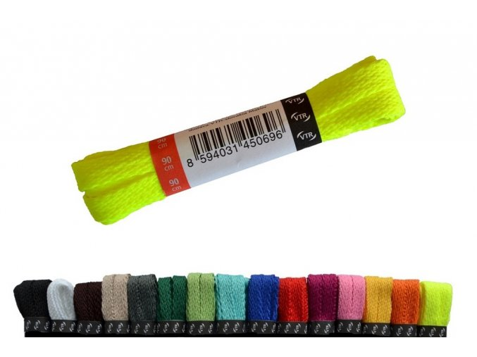 polyesterové tkaničky