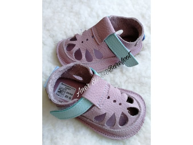 Baby Bare sandálky barefoot summer candy