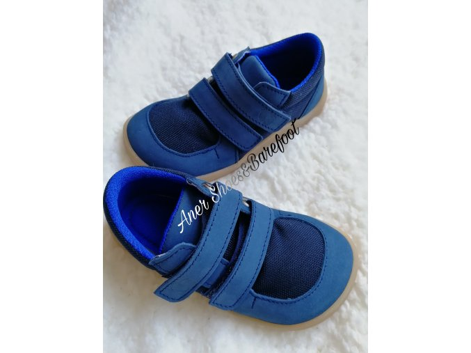 Baby Bare Shoes Sneakers Navy