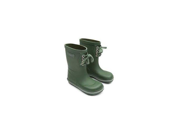 bundgaard rubber boot lace army