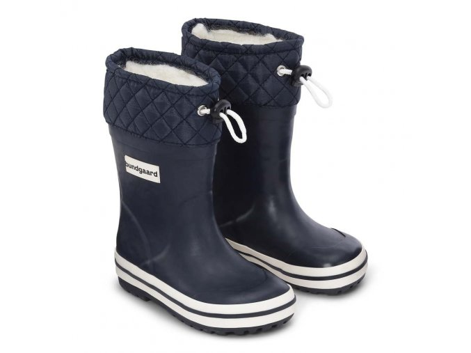 Bundgaard holiny Sailor Rubber Boot Warm zateplené Navy