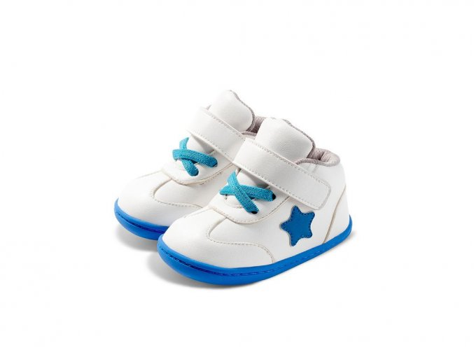 little blue lamb baas blue barefoot