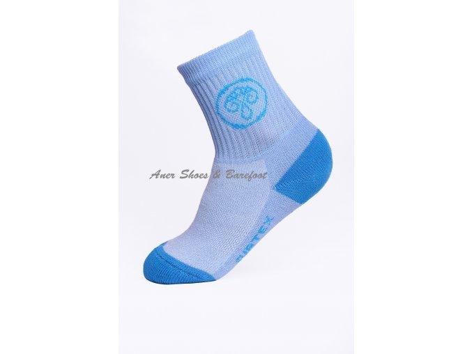 Surtex ponožky 80% Aerobic Merino dětské - sv.modrá