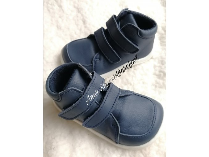 Baby Bare Shoes Fall barefoot navy