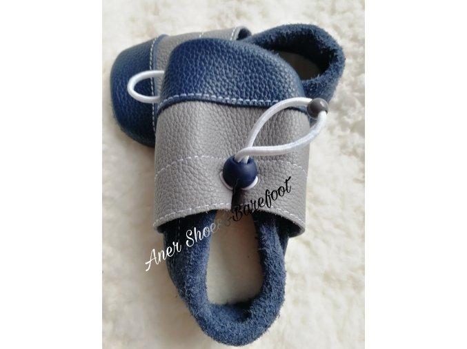 Nohatka barefoot capáčky, GreyIndigo 1