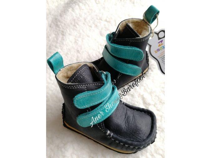 Zeazoo Yeti Black Tyrkys barefoot