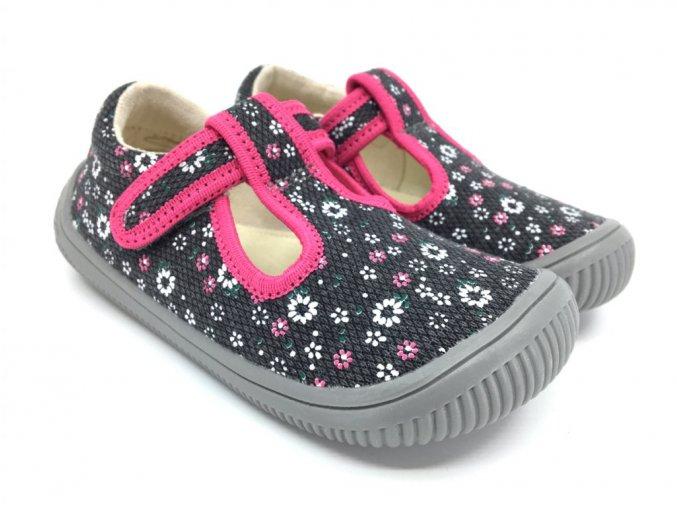 protetika barefoot kirby grey papuce