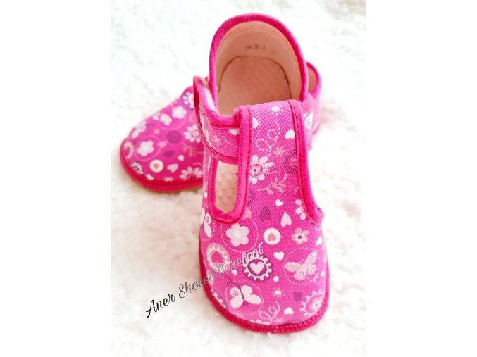 Beda barefoot papučky love