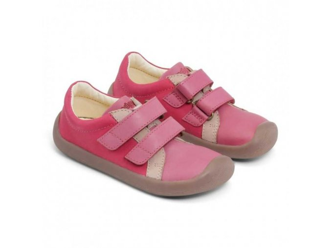 bundgaard the walk velcro pink barefoot 1