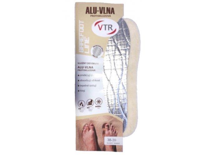 vlozky do bot barefoot alu vlna