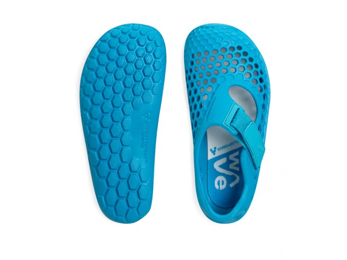 Vivobarefoot Ultra Kids Blue Wave 1