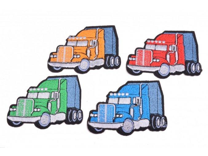 aplikace nazehlovaci 092 kamion vel 8x6cm
