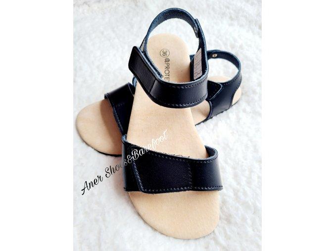 Protetika sandaly Belita cerna barefoot