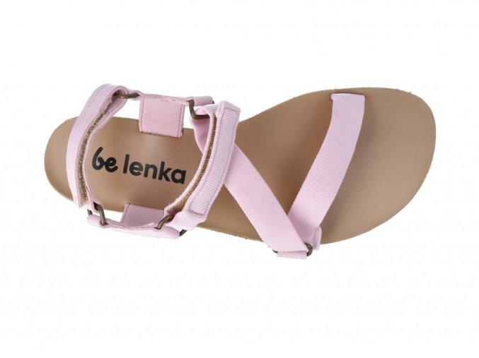 be lenka barefoot flexi pink sandale 3