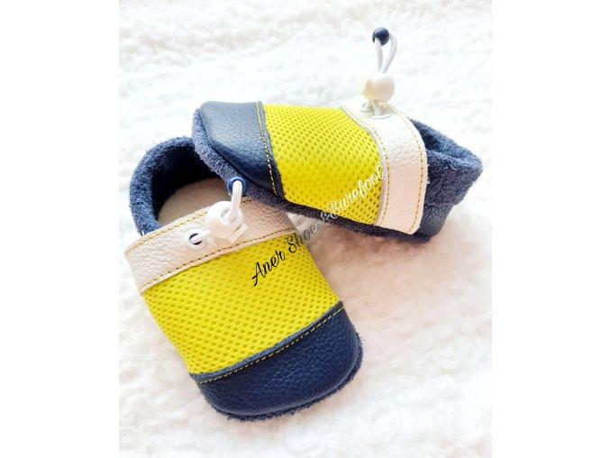 Nohatka barefoot capáčky Kanárek
