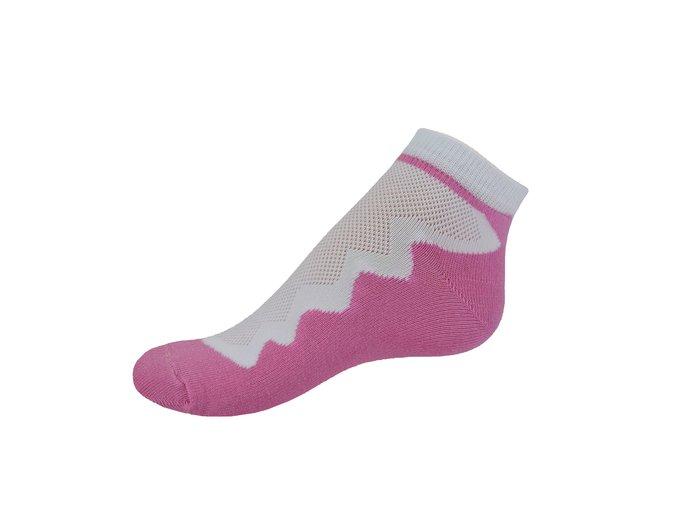 Vseproboty ponožky pink ruzova 90010505