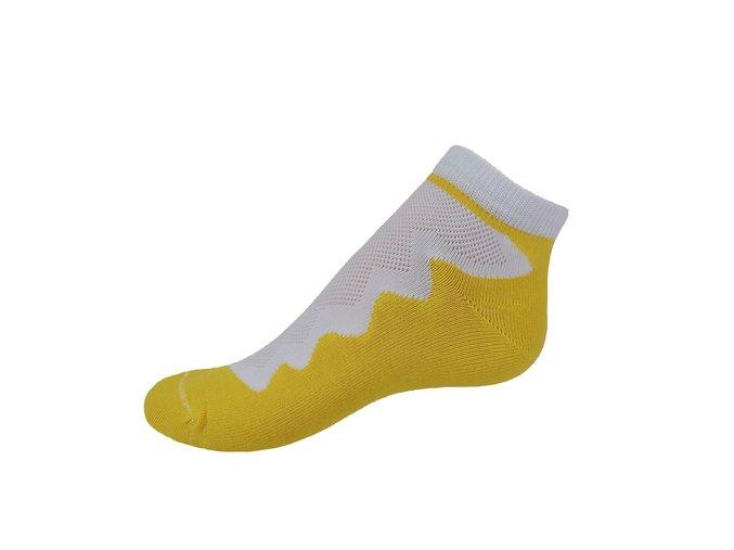 Vseproboty ponožky žlutá yellow
