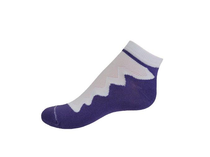 Vseproboty ponožky žlutá fialová