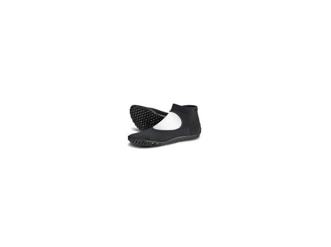 leguano ballerina schwarz barefoot 01