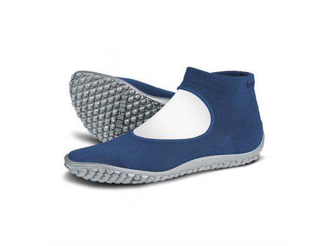 leguano ballerina blau 01 modre barefoot
