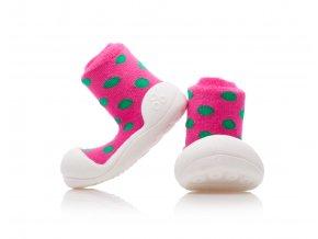 3 Polka Dot Pink 1