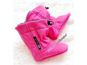 Capáčky Adom pink ruzova