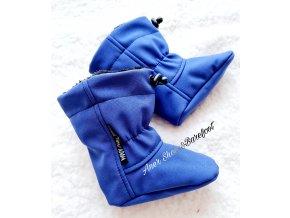 Capáčky Adom blue modrá