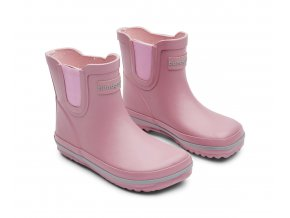 vyr 339rubber boots short old rose