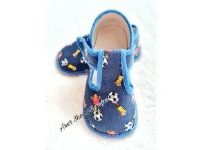 Beda barefoot papučky fotbal