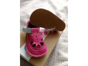 Baby Bare Shoes IO Waterlily - summer perforation