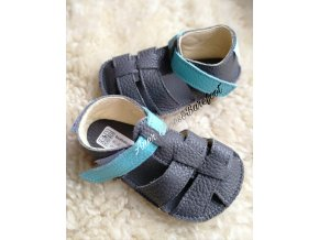 Baby Bare Shoes Sandals New Blue Beetle