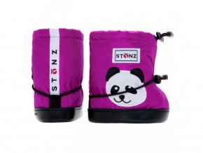 STONZ Booties Toddler - Panda Magenta