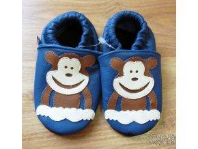 capáčky Afelo opička modrá
