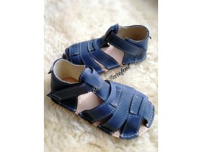 orto+ barefoot sandalky bfd201navy51h b