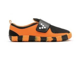 Vivobarefoot PRIMUS KIDS K Tiger Orange Black c